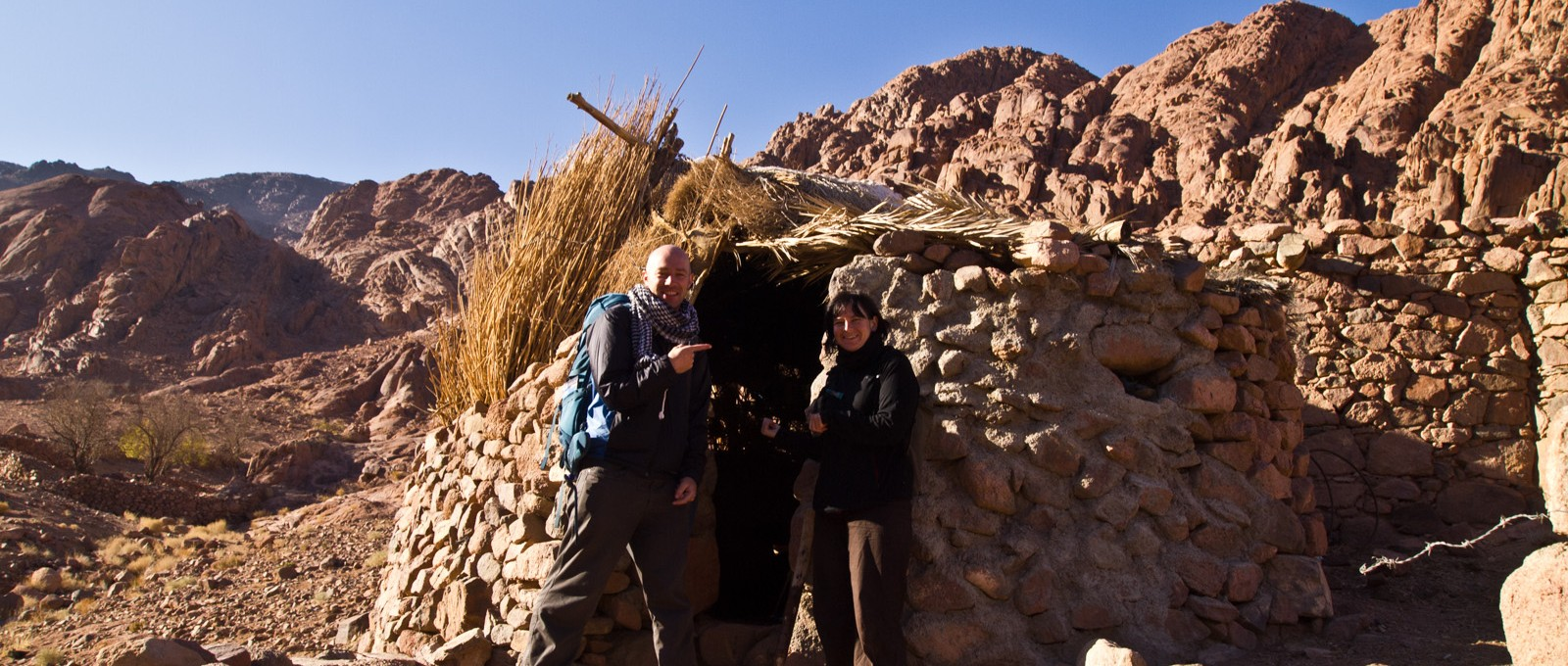 Dru And I Sleeping Hut, St Catherines, Egypt