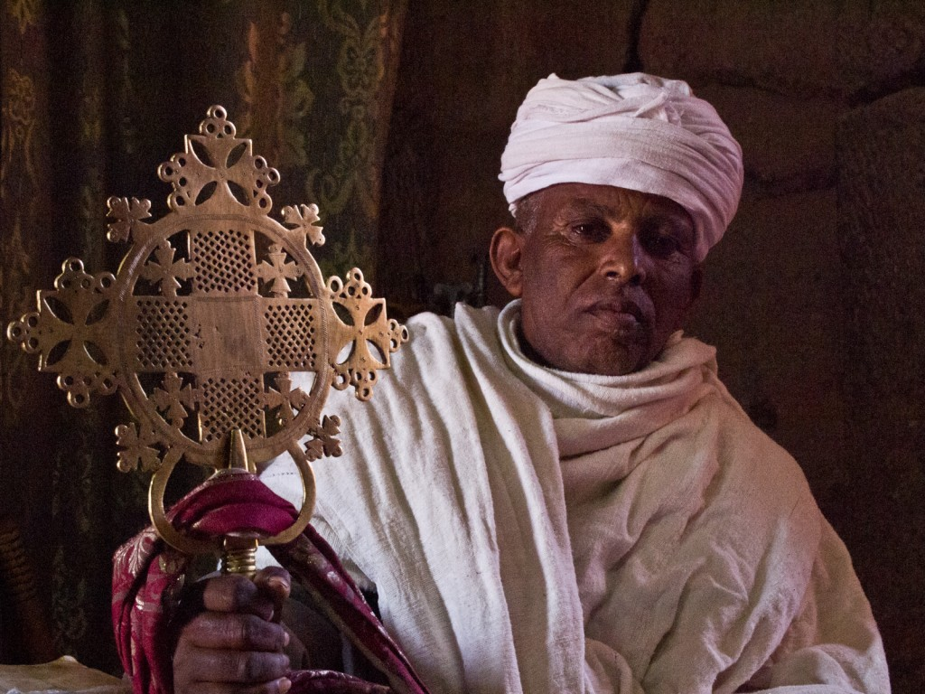 Priest With His Cross, Lalibela, Ethiopia