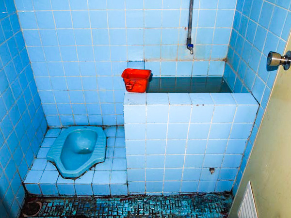 Squat Toilet, Indonesia - Motomonkey Adventures