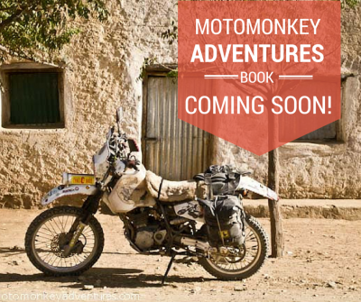 Motomonkey Adventures Book