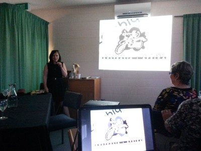 Danielle Murdoch Talks In Taupo