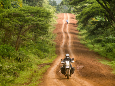 I decided to take a small border crossing into Uganda behind Mt Elgon. Just before I started to climb the mountain I found myslef riding along this beautiful road. For more information on my solo adventure please visit my Website or my facebook page