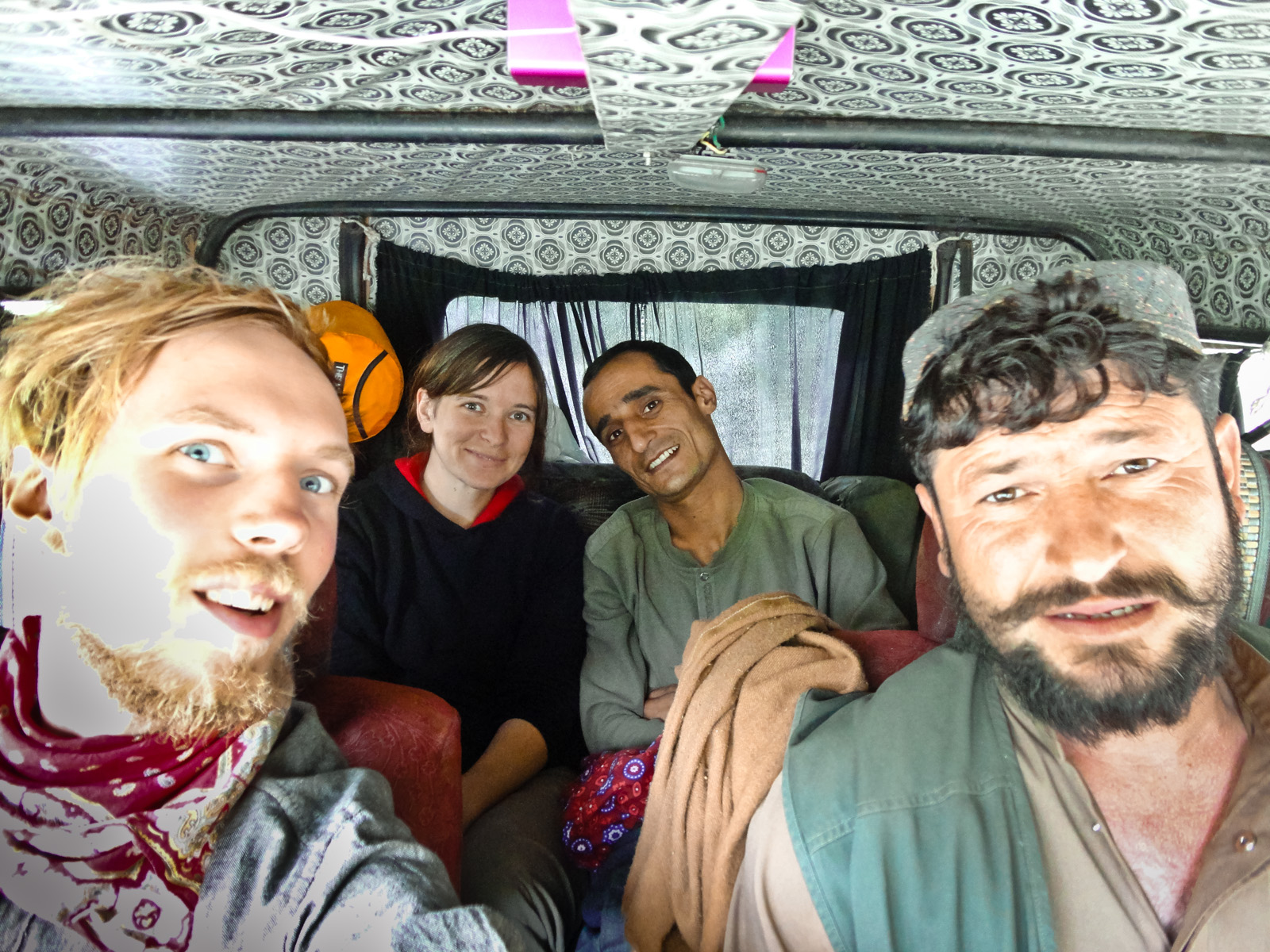 All in the Jeep, Pakistan