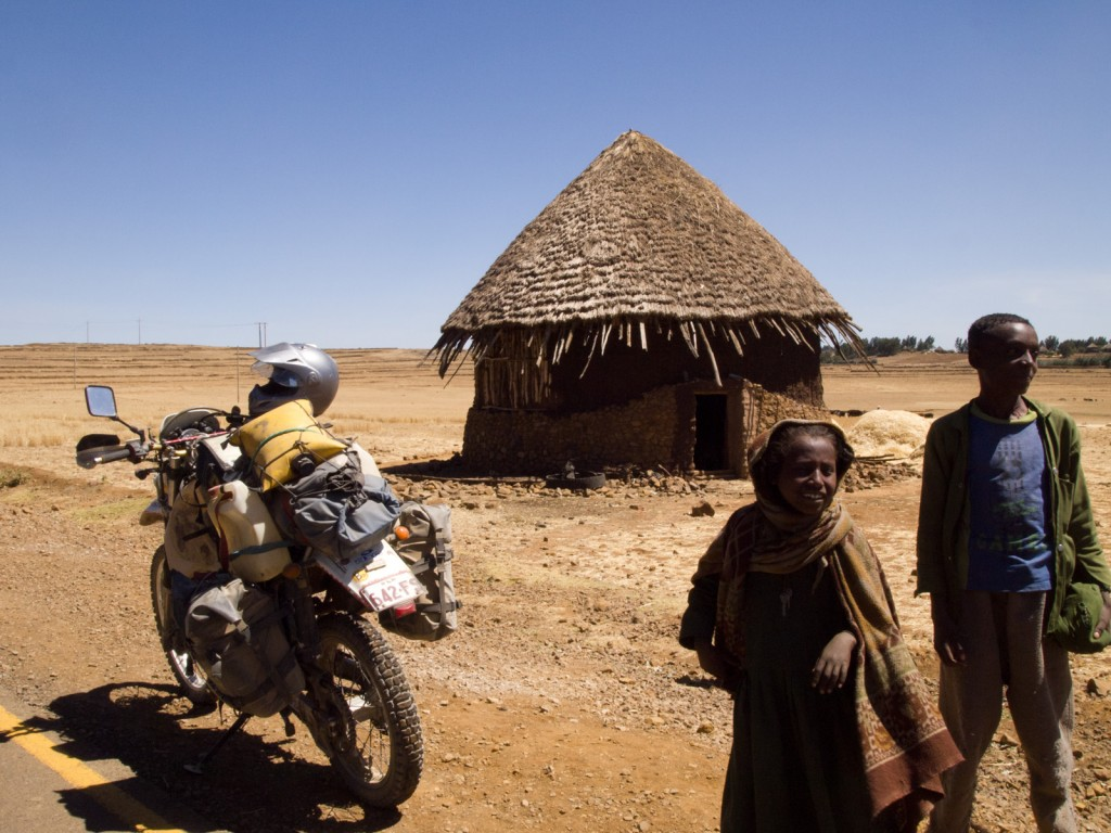 Typical Hut, Gashema, Ethiopia