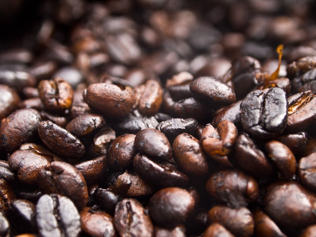 Freshly Roasted Coffee Beans, Sipi, Uganda