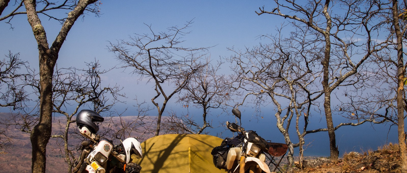Camping At The Mushroom Fram, Livingstonia, Malawi