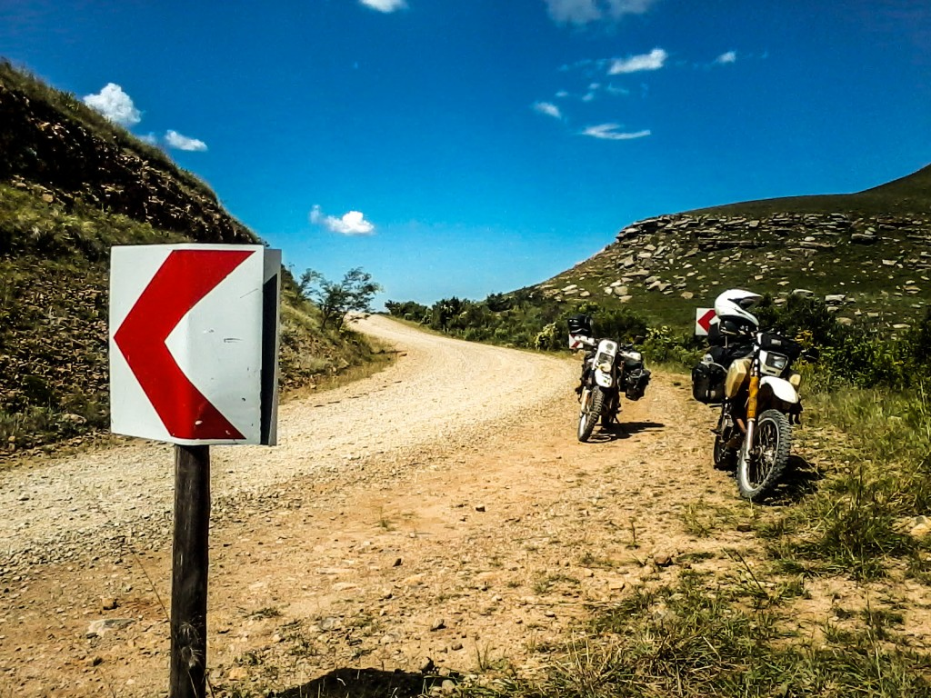 Suzuki DR350 & 650, South Africa