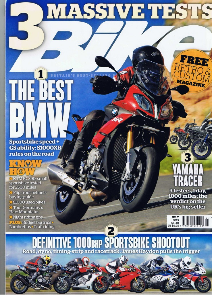 Bike-magazine front-cover